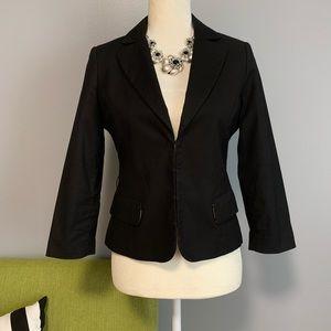 H&M Black Tailored Cropped Blazer